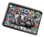 KOOLART STICKER BOMB STYLE Design For Land Rover Defender Twisted Case Cover For iPad Mini 1 2 3